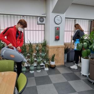 창원시장애인체육회 및 휠체어컬링팀 사무실 방역